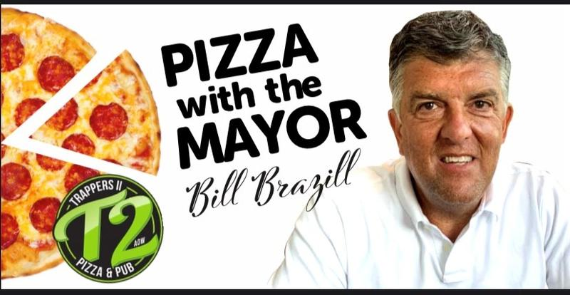 Pizza with the Mayor